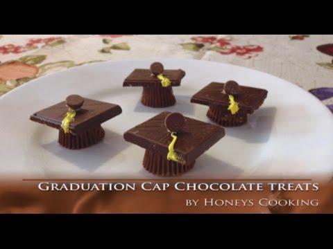 Graduation Cap Chocolate Treats Cute Graduation Recipe