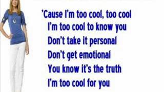 Too Cool - Meagan Martin - Words on Screen♫♪♫♪