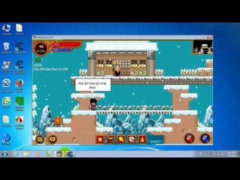 hack xu ninja school online tren may tinh - Hướng dẫn hack yên và xu game ninja school online