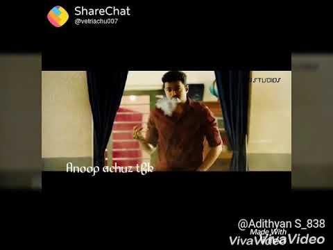 Omal kanmani Malayalam song Thalapathy version