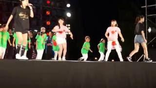 2016年8月11日、山形県東根市の「ひがしね祭」にて。 ひがしね祭...