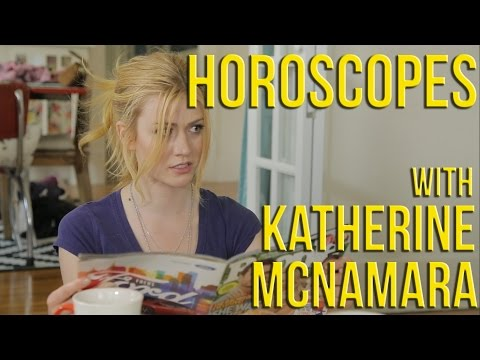 Horoscopes with Katherine McNamara (Freeform's Shadowhunters)