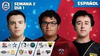 Clash Royale League: CRL West Fall 2019 | ¡Semana 2 Día 1! (Español)