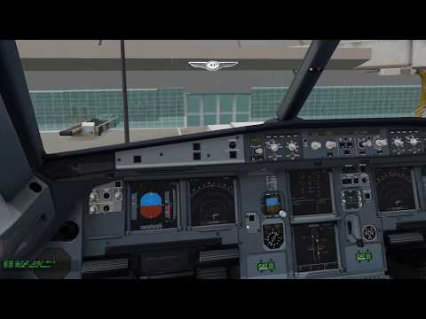 X-Plane 11 | Flight Factor A320 Ultimate | Detroit to Boston