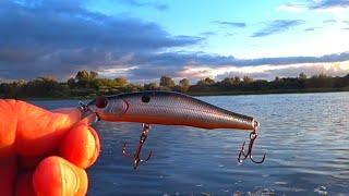 Этот ВОБЛЕР нравится ЩУКАМ Рыбалка на спиннинг с берега Спиннинг 2021