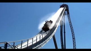 Pilgrims Plunge at Holiday World (HD)