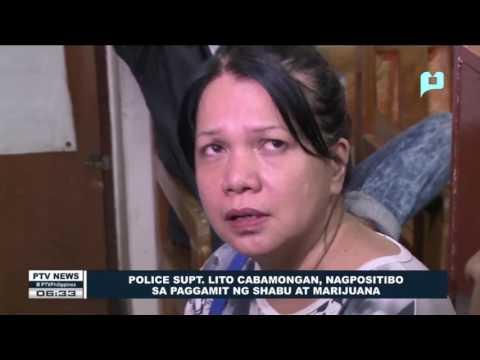 Police Supt. Lito Cabamongan, nagpositibo sa paggamit ng shabu at marijuana