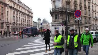 Gilets Jaunes PARIS Acte IV , Samedi 8 Décembre 2018 , vu Par Gg ( 2018/12/08 )