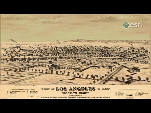 Tour a 3D map of 1890 Los Angeles Basin