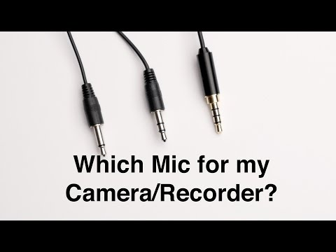 Will That Microphone Work with My Camera or Recorder? Power, Plugs, and Connectors