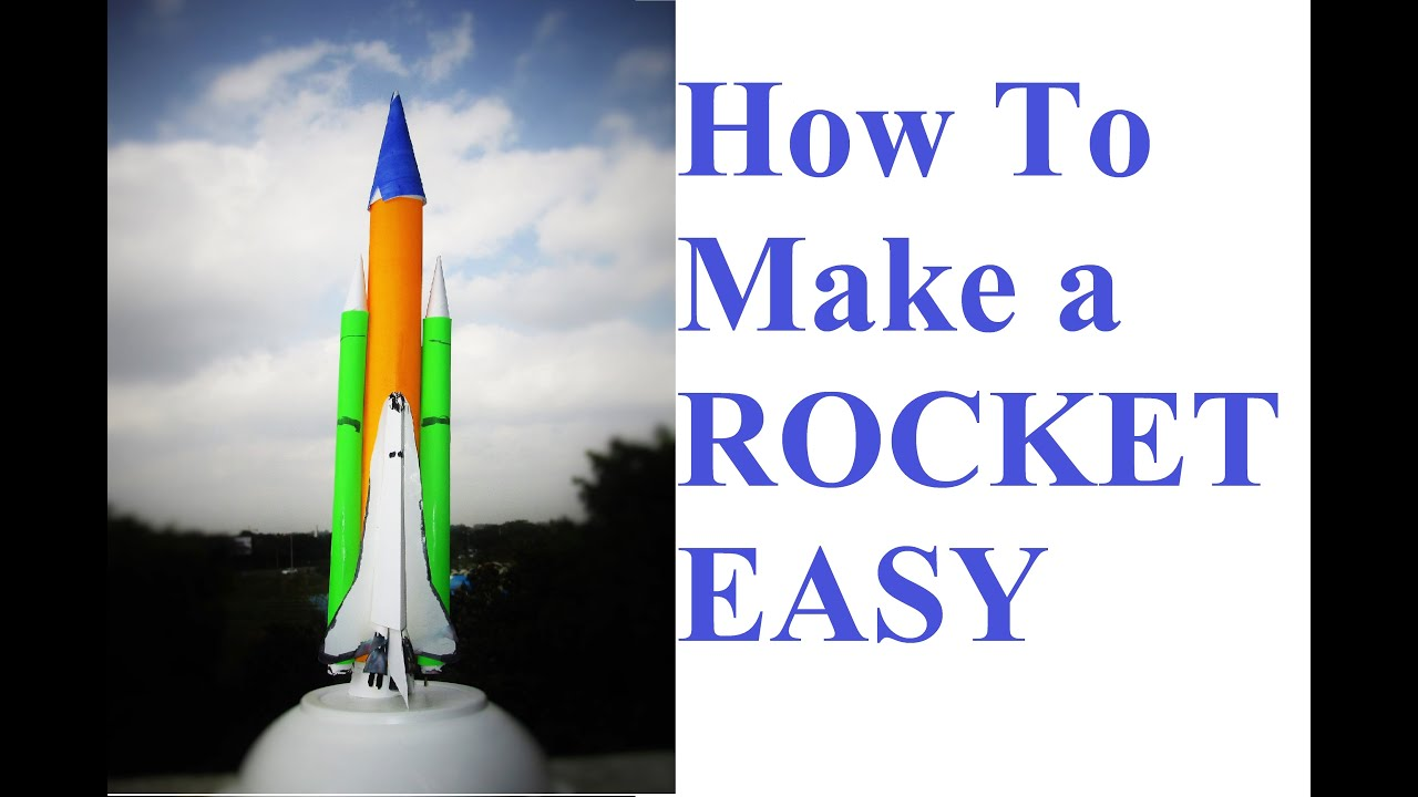 How to build model rockets