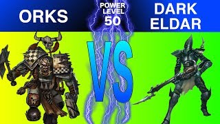 Warhammer 40k 8th Edition Live Battle Report Orks vs Dark Eldar