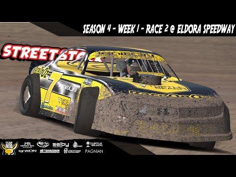 iRacing DIRTcar Class C Street Stocks Week 1 Race 2 @ Eldora Speedway