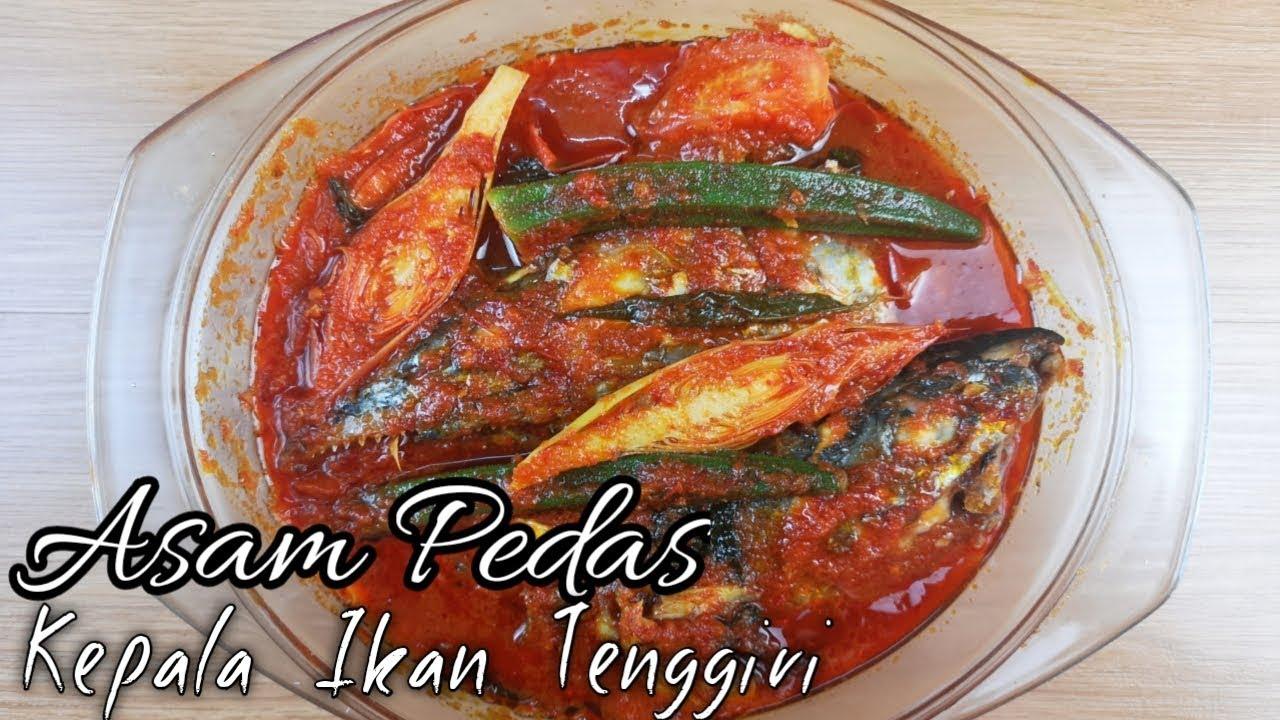 Resepi Asam Pedas | kepala ikan tenggiri - YouTube