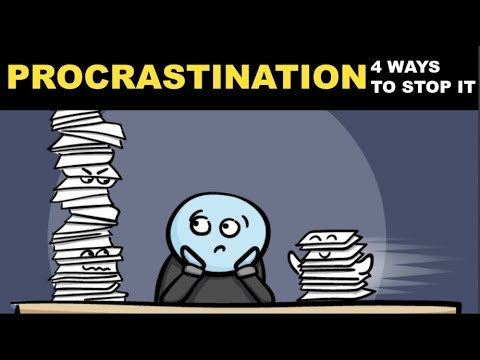How To Stop Procrastinating | Top 4 Techniques