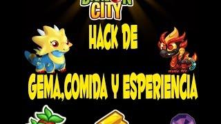 Dragon City-Hack De Gemas,Oro,Comida, y Experiencia