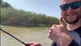 Рыбалка на спиннинг в дельте Волги