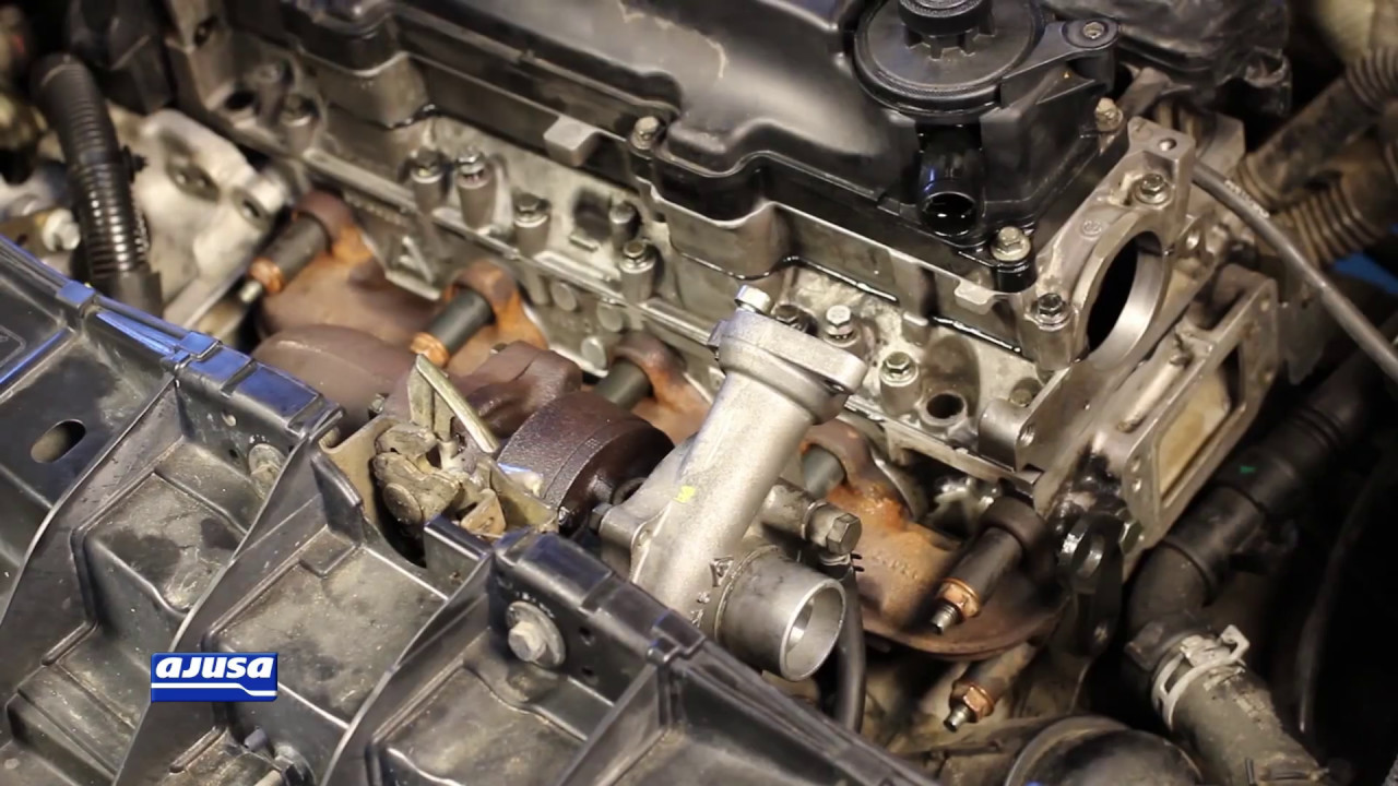 Turbo Components Juntas De Turbo Ford Fiesta 1 4 Tdci F6ja Youtube