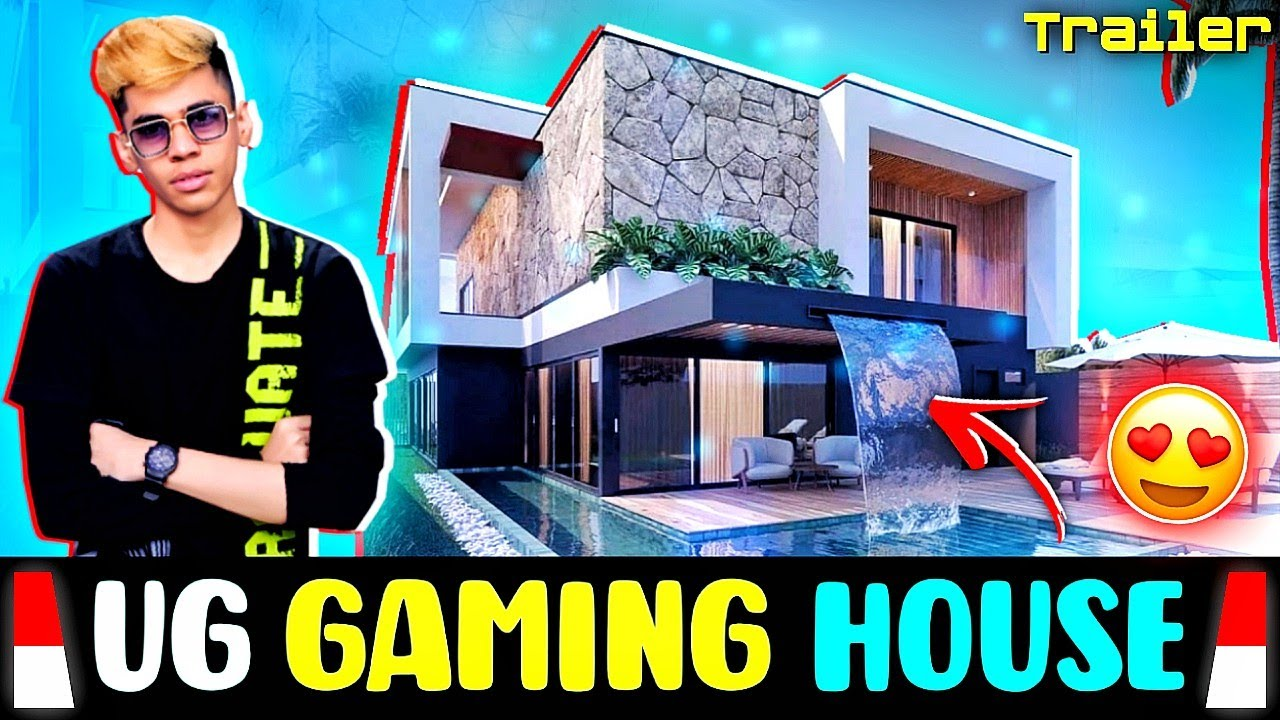 UG Empire New Luxurious Gaming House Trailer😍❤️🔥Rs 1.5 Crore !!