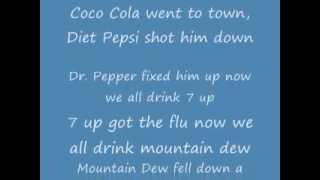 Coca Cola went to town rhyme (lyrics)