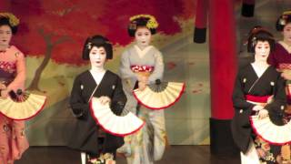 Maple Dance -- Gion Odori -- 祇園おどり