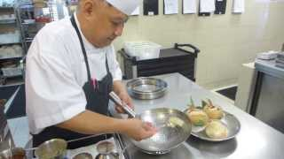 Lee Hiu Ngai Prepares Double Boiled Soup At Capella In Singapore