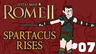 Total War: Rome 2 - Spartacus Rises - Part 7 - Farewell Rebels!