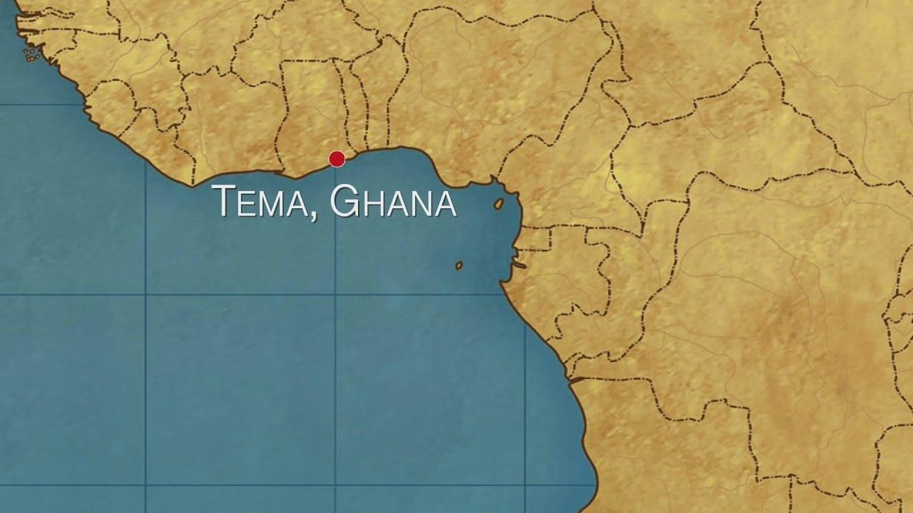 Map Of Tema Ghana Tema, Ghana   Port Report   YouTube