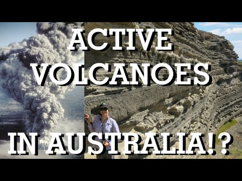 Active Volcanoes in Australia?!