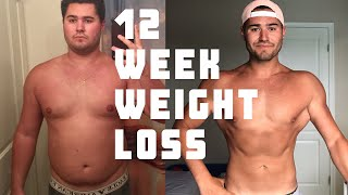 12 Week Weight Loss Journey   Tips and Tricks