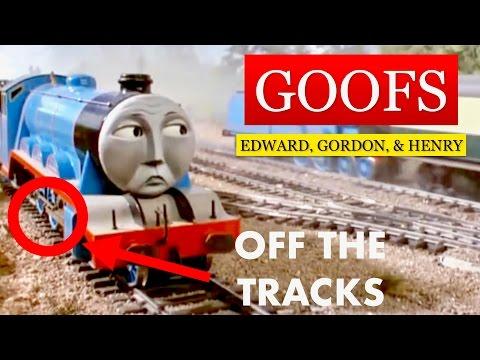 Goofs In Edward, Gordon, & Henry (Episode 4, Season 1)