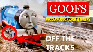 Goofs In Edward, Gordon, & Henry (Episode 4, Season 1)