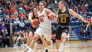 Hope College v. Albion College - NCAA D3 Men's Basketball