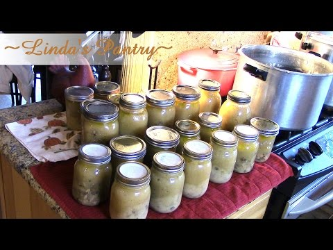 ~Home Canning Cream Of Chicken & Mushroom Soup With Linda's Pantry~