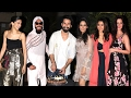 Shahid Kapoor's GRAND Birthday Party 2017 Full Video HD - Deepika,Ranveer,Katrina,Alia