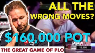 Daniel Negreanu #RaisesIT Playing Pot Limit Omaha vs Sam Trickett