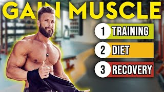 3 BEST Ways t๐ Build BIGGER Muscles FASTER
