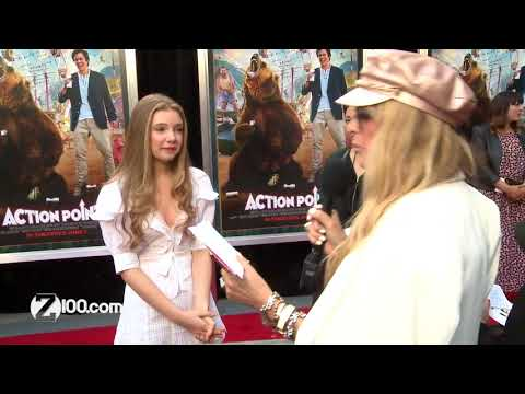 Action Point Red Carpet with Eleanor Worthington-Cox