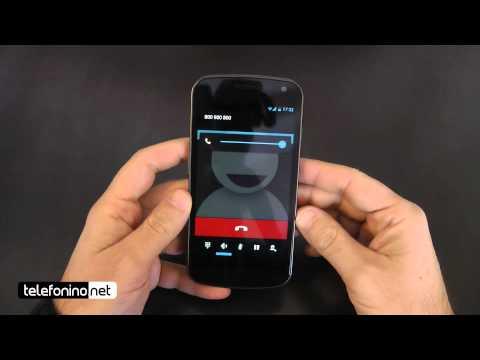 Samsung Galaxy Nexus videoreview da Telefonino.net