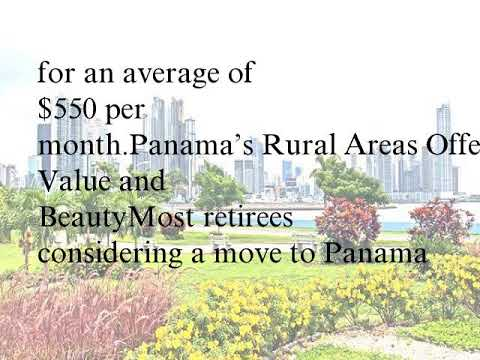 What Does It Cost to Retire in Panama