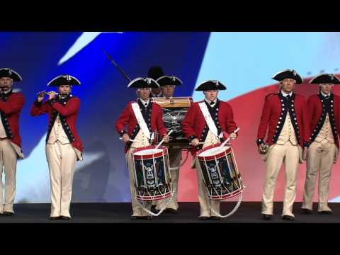 The U.S. Army OId Guard Fife and Drum Corps Opens the General Session