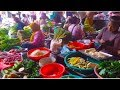 Morning Street Food At Deum Skouv Market - Daily Life And Food