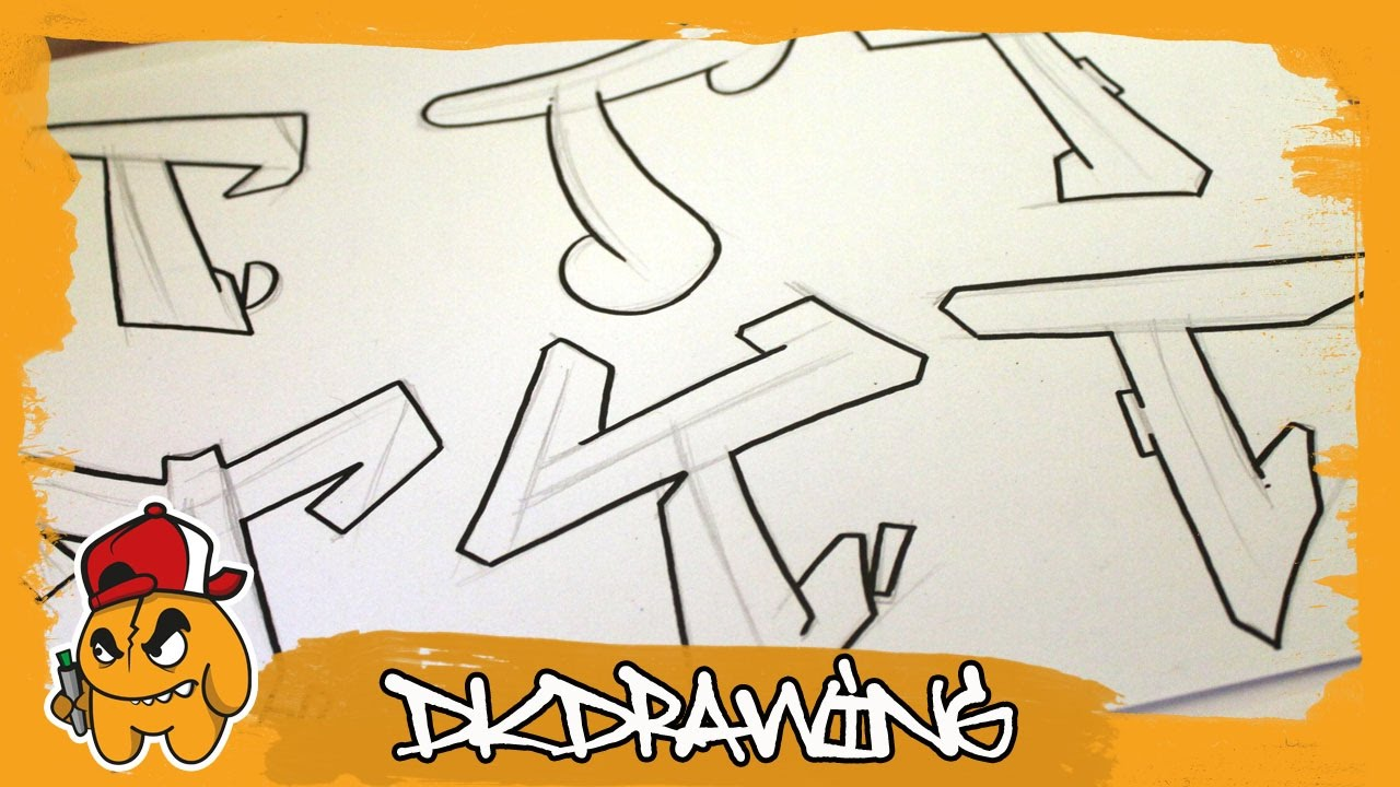 Graffiti Alphabets Letter T