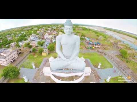 Meditating Buddha Statue at Amaravathi