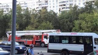 Пожар в жилом доме на Севере Москвы (САО)