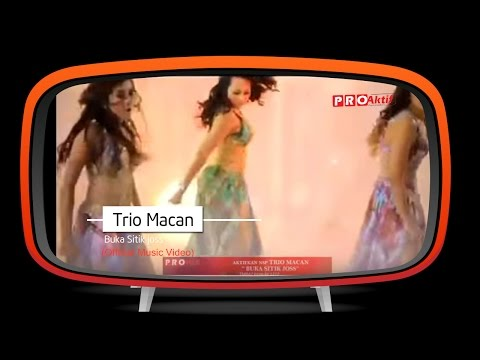 "Trio Macan - ""Buka Sitik Joss"" (Official Music Video)"
