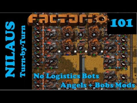 Factorio S6E101 - Too big efficient Silver factory