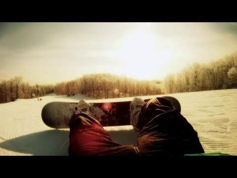 The Naked and Famous - Punching in a Dream (Snowboarding Trip 2011)