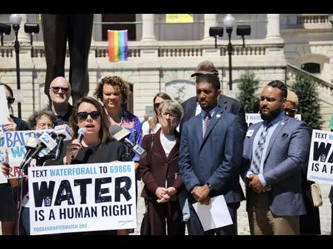 Rising Water Rates Hurt Black Baltimore Most, Study Shows