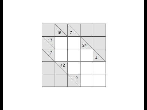 Как разгадывать головоломки Какуро